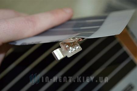 Как правильно подключать клипсу к ик-пленке